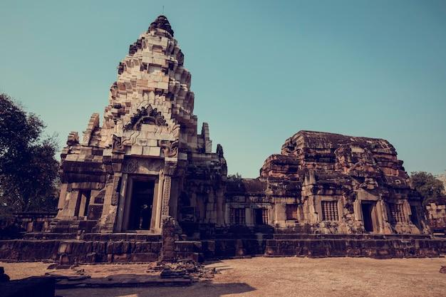 L'ingresso del castello mueang phanom one thailand