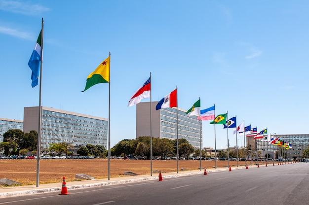 Spianata dei ministeri brasilia distrito federale brasile il 14 agosto 2008