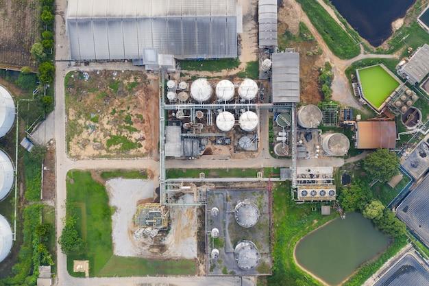 Fabbrica di alcol etilico, etanolo, produzione di energia rinnovabile di canna da zucchero, melassa
