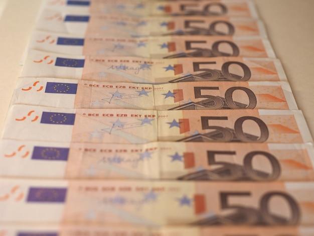 Banconote in euro (eur), unione europea (ue)