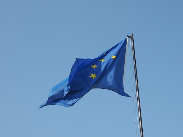 Bandiera europea d'europa