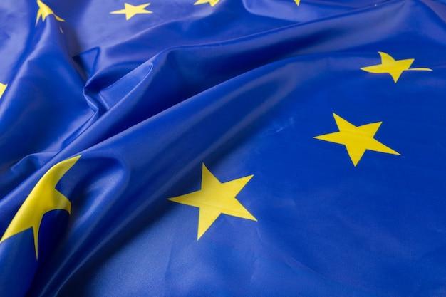 Bandiera dell'unione europea ue Foto Premium