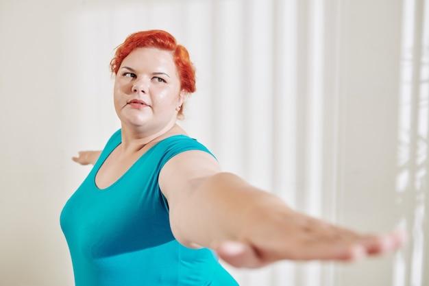 Esercitare una donna taglie forti