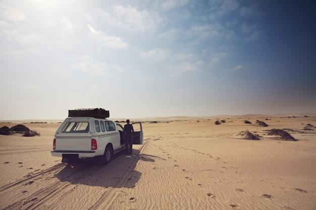 Spedizione nel deserto del namib
