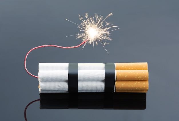 Esplosivi da sigarette con scintille