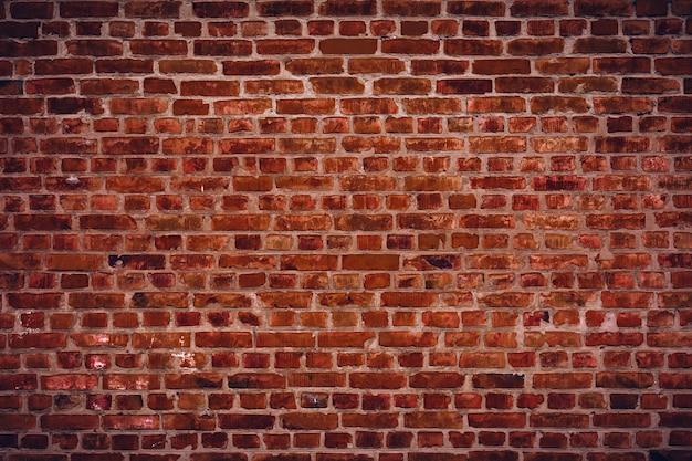 Fondo di struttura del muro di mattoni marrone della fabbrica esterna