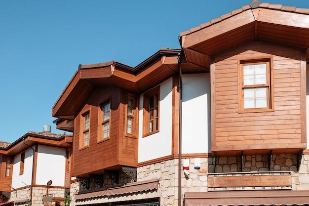 Esterno di una casa in turchia nella città di side
