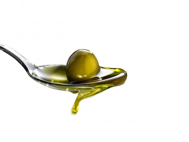 Olio extra vergine di oliva isolato
