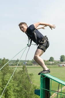 Extreme ropejumping