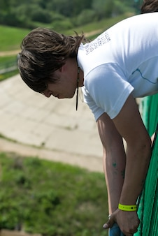 Sport estremi di ropejumping