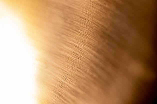 Sfondo metallico lucido estremamente ravvicinato