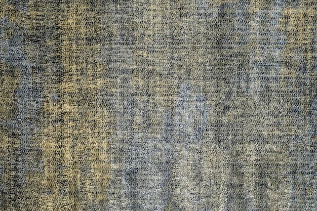 Trama del tessuto di cotone naturale o materiale tessile di lino