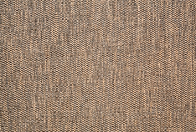 Trama del tessuto di tela di lino naturale materiale tessile sfondo.
