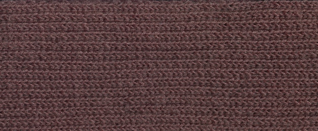 Trama del tessuto di spessi fili marroni