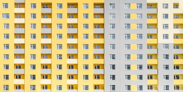 Facciata di un edificio a più piani