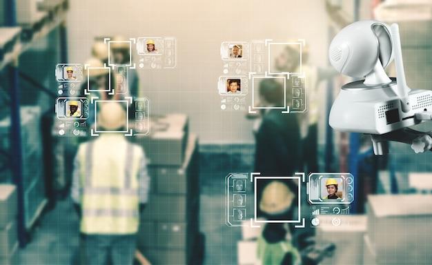 Tecnologia di riconoscimento facciale per consentire ai lavoratori del settore di accedere al controllo della macchina