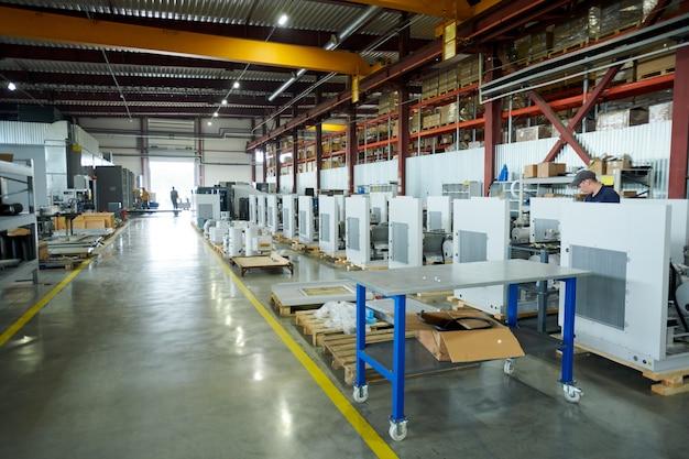 Officina della fabbrica