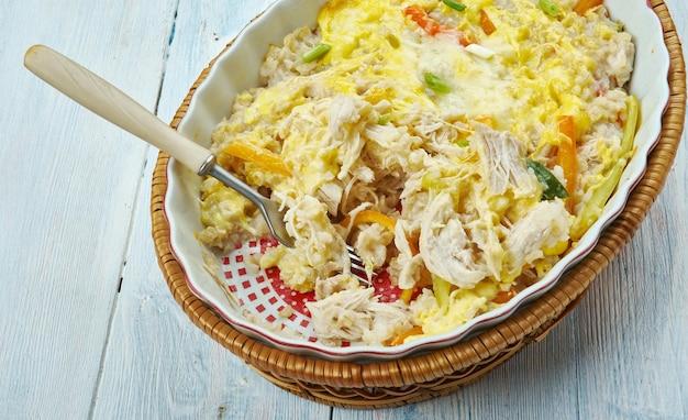 Fajita chicken casserle, piatto messicano vavorite
