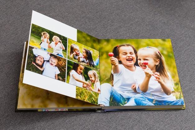 Album fotografico di famiglia, weekend di primavera