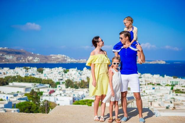 Vacanze in famiglia all'aperto in europa