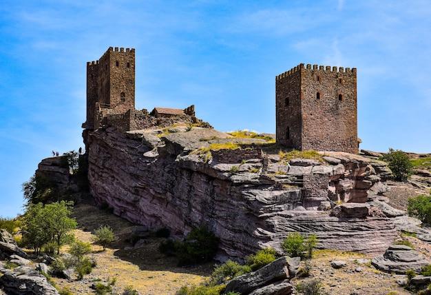 Famoso castello di zafra a guadalajara in spagna