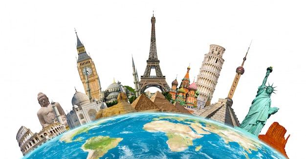 Famosi monumenti del mondo