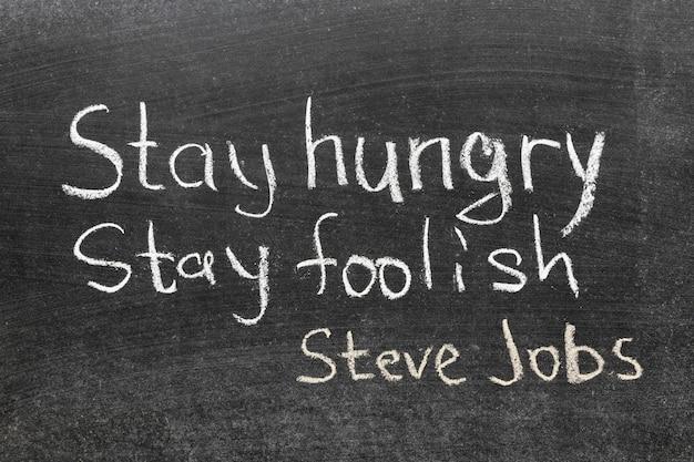 Famosa citazione di steve jobs -
