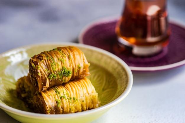 Famoso baklava dolce turco