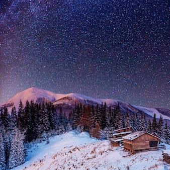 Fantastica pioggia di meteoriti invernali