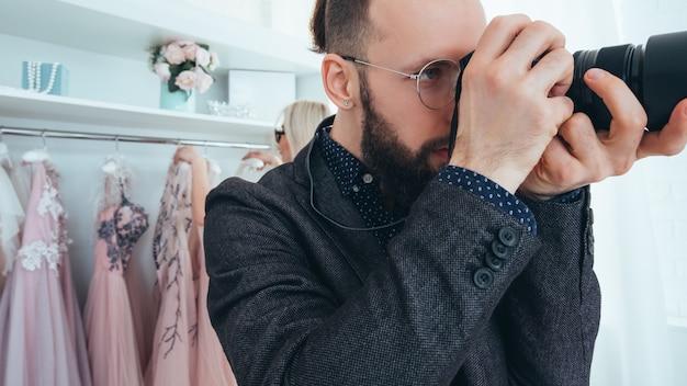 Boutique di moda. servizio fotografico professionale.