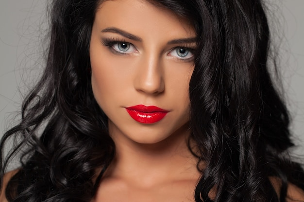 Moda ritratto di bellezza donna sexy