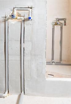 Installazione nascosta rubinetti.