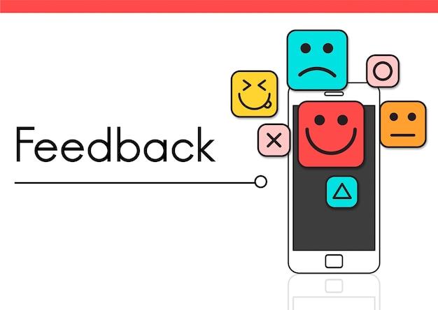 Feedback sondaggio risposta consigli suggerimenti