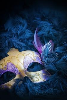 Maschera di carnevale femminile