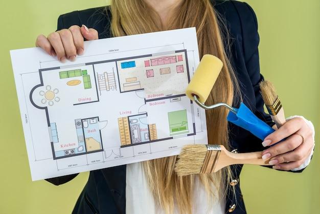 Piano della casa della holding femminile e strumenti di lavoro