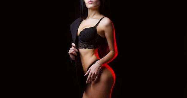 Donna in biancheria intima. donna sexy, intimo, intimo donna, reggiseno.
