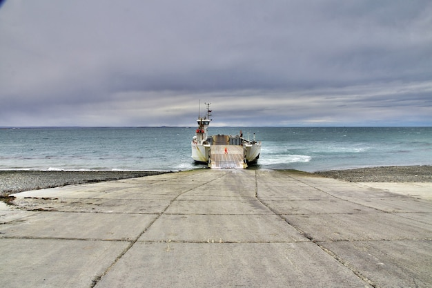 Il traghetto sullo stretto di magellano