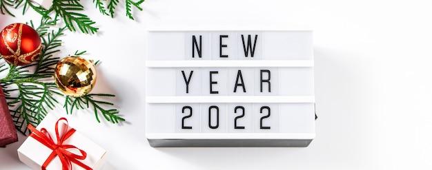 Composizione festiva per capodanno 2021