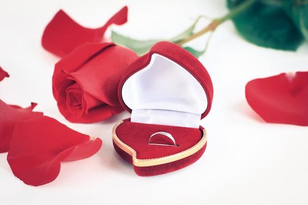 Composizione festiva per il giorno di san valentino