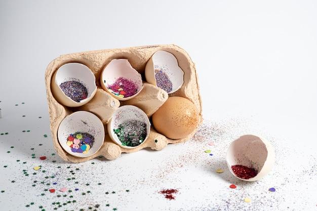 Composizione di coriandoli adorabili festosi