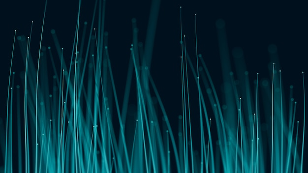 Sfondo in fibra ottica