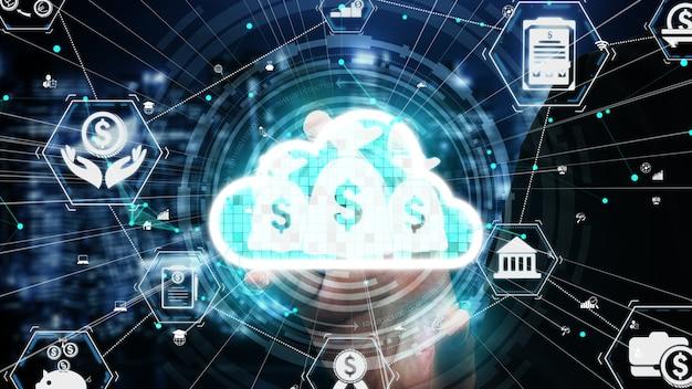 Tecnologia delle transazioni finanziarie e monetarie concettuali