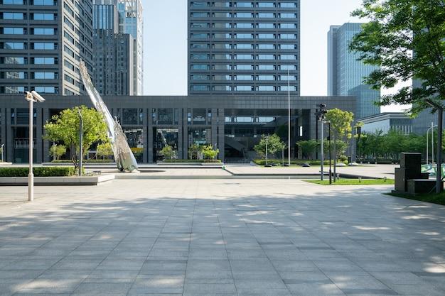 Edificio per uffici del centro finanziario a ningbo east new town, cina