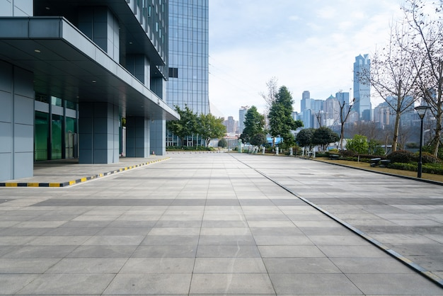 Financial center plaza e edificio per uffici, chongqing, cina