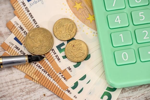 Finanziario e conteggio o scambio di concetto