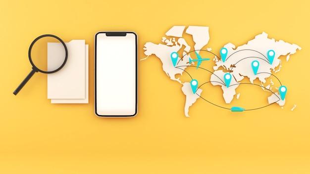 Trova informazioni di viaggio in tutto il mondotrova informazioni di viaggio tramite cellulare