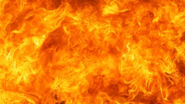 Il fuoco ha scoppiato il fondo di struttura