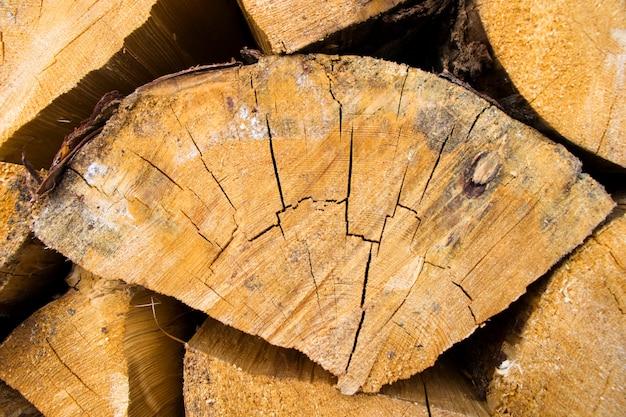 Struttura della legna da ardere, materiale astratto e di legno