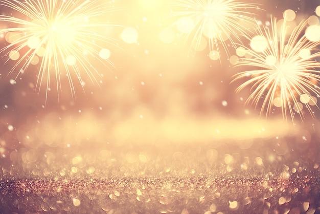 Fondo astratto dei fuochi d'artificio