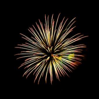 Fuochi d'artificio - effetto colore vibrante
